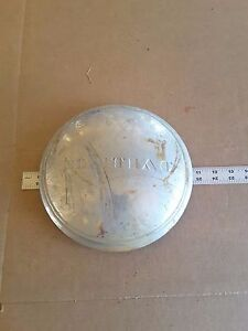 Pontiac Dog Dish Hubcap Vintage Automotive Poverty Flat