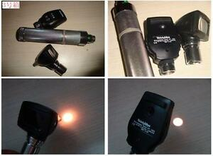 Welch Allyn 11720 Ophthalmoscope And 25020a Otoscope Head With Battery Handle