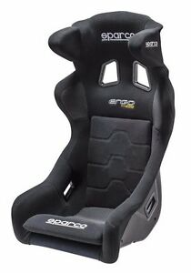 Sparco New Ergo Competition Seat Black 008721nr2m