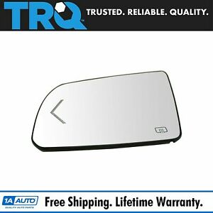 Trq Side View Mirror Glass Heated Turn Signal W Backing Plate Lh For Sequoia