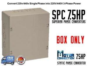 Static Phase Converter 7 5 Hp Create 3 Phase Power From Single Phase Supply
