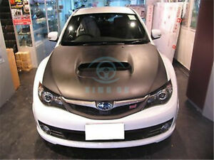 Carbon Fiber Air Cover Refit For Subaru Impreza Wrx Sti Grb Grf Hatchback 2008
