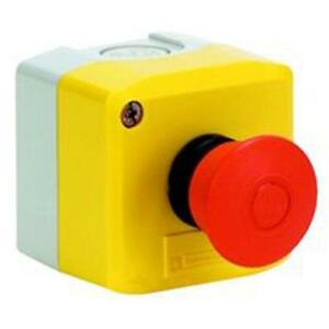 Control Station Mushroom Button Switch Head Maintained High pressure Cleaning