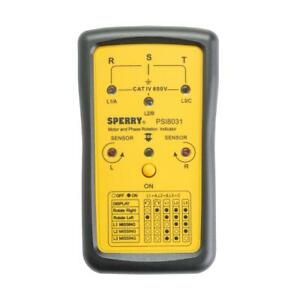 Test Meter Voltage Manual Detector Phase Sequence Indicator Impact Resistant