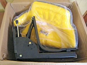 New Replacement Sn7 Forklift Tractor Mower Suspension Seat Yellow John Deere