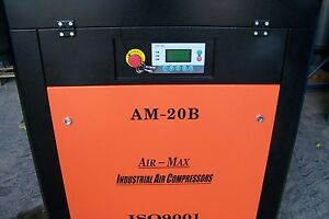Eco-Max  50 hp. 230 V. Variable Speed Drive Industrial  Rotary Screw Compressor