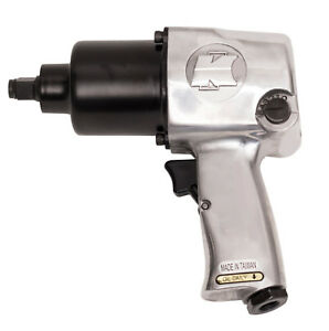 1 2 Inch Dr Super Duty Air Impact Wrench Tool Torque 600 Ft lbs Wisdom