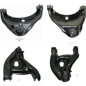 Control Arm Kit For 1988 1999 Chevrolet C1500 Front Lh And Rh Upper And Lower