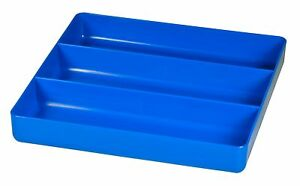 Ernst 5022 The Tray Junior Blue 3 Compartment Tool Organizer