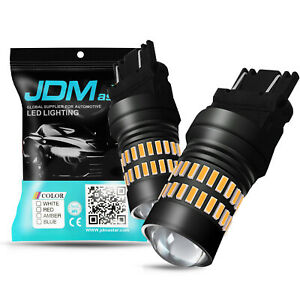 Jdm Astar 48 Smd 3157 3156 White Led Turn Signal Brake Tail Parking Backup Light