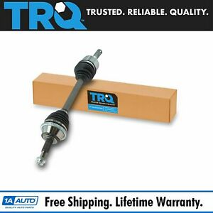 Trq New Rear Cv Axle Shaft Assembly Driver Side Lh For Explorer Mountaineer