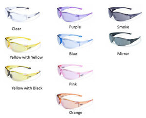 Global Vision Cruisin Safety Glasses Ansi Z87 1 2010 Riding