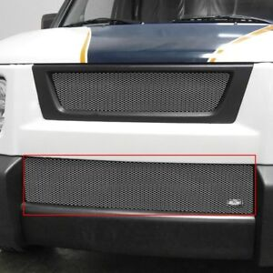 Honda Element 03 08 Grillcraft 1 Pc Mx Series Silver Fine Mesh Bumper Grille