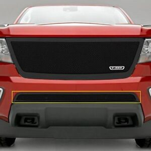 For Chevy Colorado 15 19 1 pc Upper Class Series Black Formed Mesh Bumper Grille