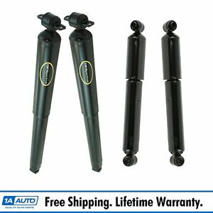 Monroe Oespectrum 4 Piece Shock Absorber Kit Front Rear For Chevy Gmc Pickup