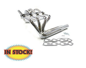 Patriot Exhaust H8032 Sprint Style Chevy Big Block Headers Chrome