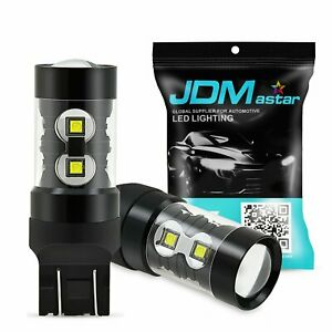 Jdm Astar 50w 7443 7440 12v Led Amber Yellow Car Turn Signal Blinker Light Bulbs
