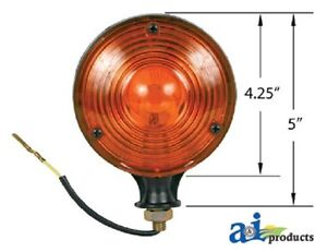 Tractor Caution Lights 2 Pk For Case Ih John Deere Ford