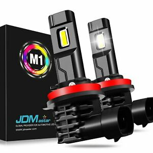 Jdm Astar 2x H1 12258 6th 5600lm Cree 6000k White Led Headlight Conversion Kits