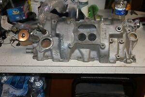 1966 1967 Corvette Original Aluminum Intake Manifold 490 For 350 Hp Car