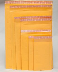 20 50 X Kraft Bubble Mailers Padded Envelopes Shipping Bags Self Seal Lots Size