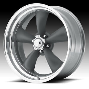 American Racing Vn215 Torq Thrust Ii Mag Gray 18x10 5x4 75 6mm Vn2158161