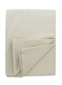 Abn Painters Beige Canvas Paint Drop Cloth Jumbo 12 X 15 Foot For Painting