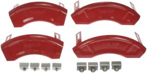 Set 4 Disc Brake Caliper Aesthetic upgrade Covers For Buick Chevy Gmc Gloss Red