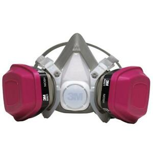 Respirator Dust Mask Half Face Painting Drywall Sanding Safety Gear Auto Shop