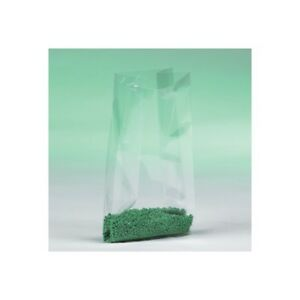 Gusseted 1 Mil Poly Bags 15 x9 x24 Clear 500 case