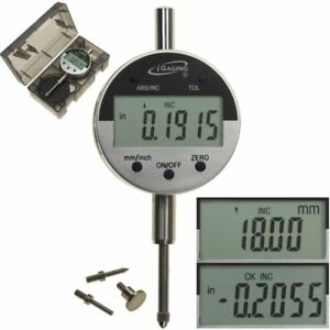 Digital Electronic Indicator 1 0 0005 Gauge 4 Probes Absolute Hold Inch metric