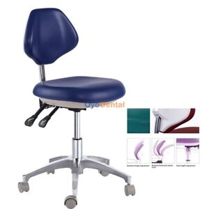 Pu Leather Medical Mobile Chair Dental Dentist Chair Doctor s Stool Qy500 1
