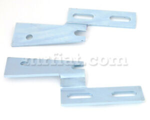 Fiat 124 Spider Front Bumper Bracket Set 1974 85 New