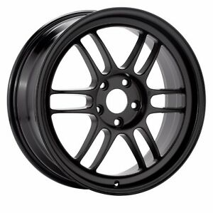 Enkei Rpf1 18x10 5 Racing Wheel Wheels 5x114 3 Et15 Black