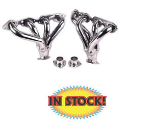 Thunderbird Exhaust H8030 Big Block Chevy Hugger Headers With Chrome Finish