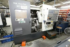 Used Nakamura tome Wt 100 Mmy Cnc Multi axis Turning Center 2006