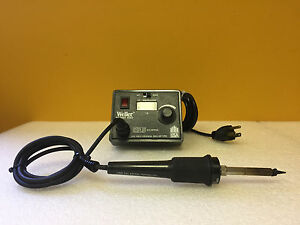Weller Cooper Tools Ec2002cesd 60 W 350 To 850 Soldering Station Tested