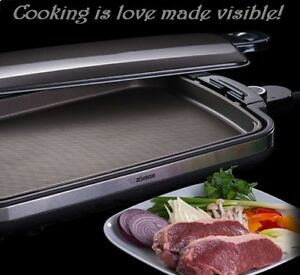 Electric Flat Top Grill Restaurant Professional Commercial 24 Cooking Griddle