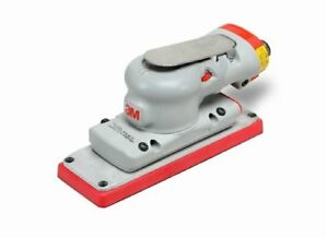 3m 28527 Air Powered 2 3 4 X 7 3 4 Inch Orbital Sander 1 8 Inch Orbit Non Vacuum