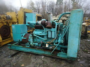 Onan 150 Kw Genset Runs Exc Video Low Hours Allis Chalmers Diesel 3ph Generator