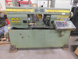 Hyd mech H 14 Automatic Horizontal Band Saw 14 X 14