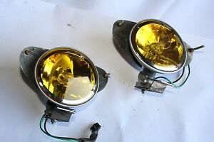 00 06 W215 Mercedes Cl500 Cl55 Cl600 Hella Lorinser Fog Lights Lamps Pair 3441
