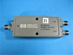 Agilent Hp 87304c Power Divider 2 To 26 5 Ghz