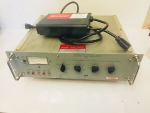 Power Design Dc Power Source Model 3k75p High Voltage Calibrated