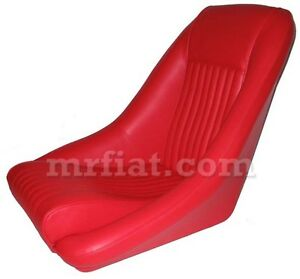 Fiat 500 124 Spider Leather Seat New
