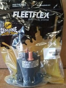 Fisher Minute Mount Snow Plow Fleet Flex Solenoid Motor Relay Kit 42901