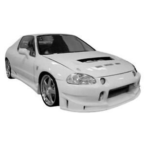For Honda Civic Del Sol 93 97 Front Bumper Cover Buddy Style Fiberglass Front