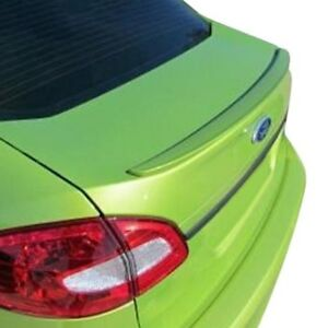 For Ford Fiesta 11 19 T5i Factory Style Rear Lip Spoiler Unpainted