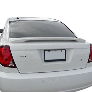For Saturn Ion 03 07 T5i Factory Style Rear Spoiler Unpainted