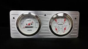 1940 1941 1942 1943 1944 1945 1946 1947 Ford Truck Quad Gauge Cluster Metric